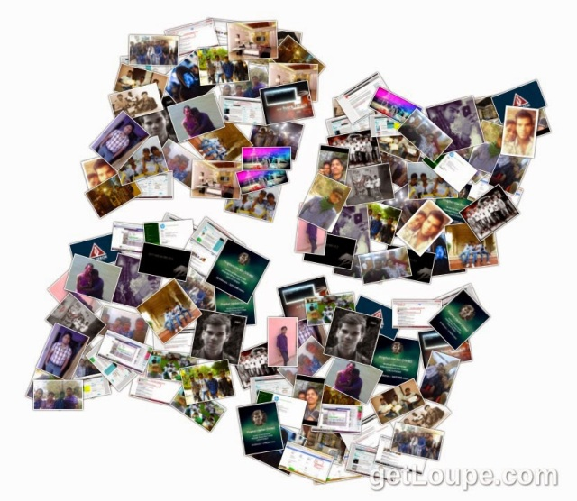 create colllage from facebook photos