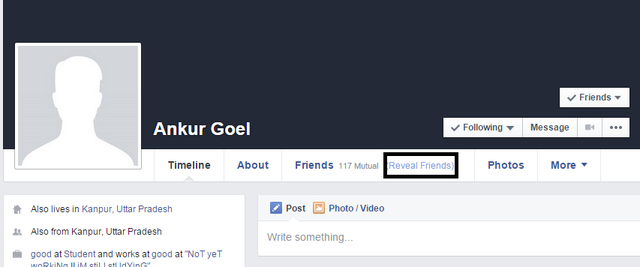 Simple Steps For How To See Hidden Friend List On Facebook 2015