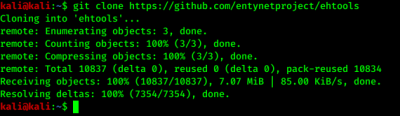 clonning from github