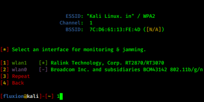 Interfaces for jamming and monitoring